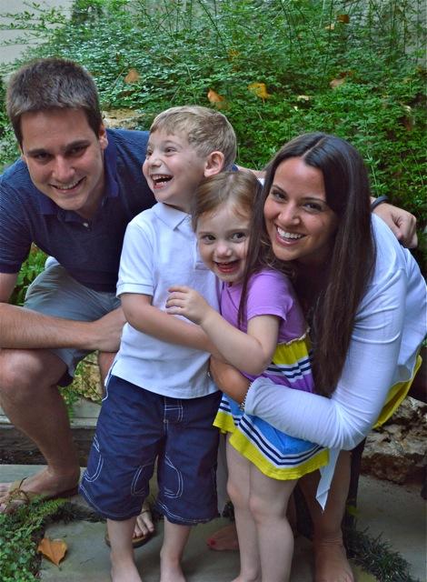 Beth, Brandt, & Kiddies.