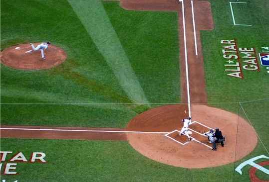 Jeter leads off with a double