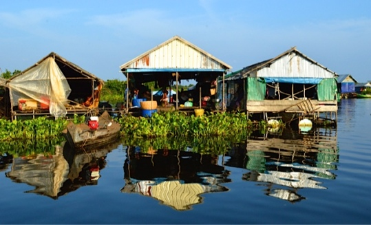 Floating Village Houses